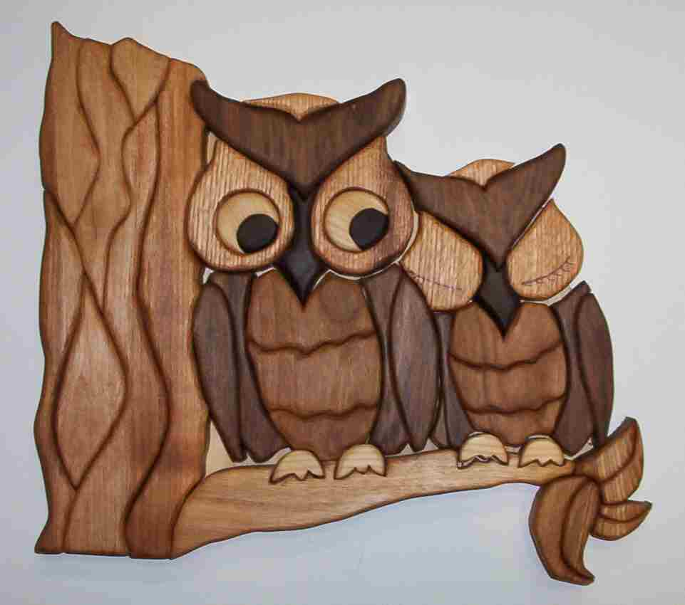 wood intarsia projects