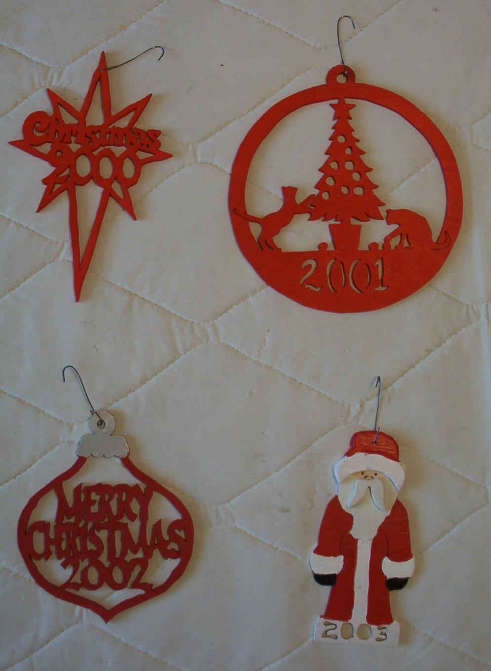 Scroll Saw Christmas Ornaments Download